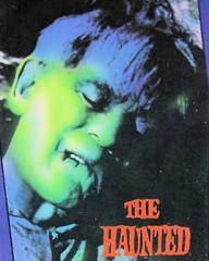 Boris Karloff (as James Rankin) in an American video cover from The Haunted Strangler [Grip of the Strangler] (1958) (1)
