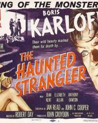 Lobby card from The Haunted Strangler [Grip of the Strangler] (1958) (1)