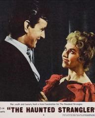 Lobby card from The Haunted Strangler [Grip of the Strangler] (1958) (4)