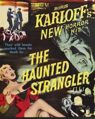 Poster for The Haunted Strangler [Grip of the Strangler] (1958) (1)