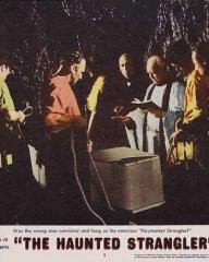 Lobby card from The Haunted Strangler [Grip of the Strangler] (1958) (3)