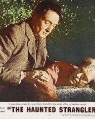 Lobby card from The Haunted Strangler [Grip of the Strangler] (1958) (8)