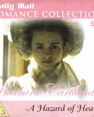 Helena Bonham Carter (as Serena Staverley) in a DVD cover of A Hazard of Hearts (1987) (1)