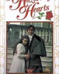 Helena Bonham Carter (as Serena Staverley) in a video cover from A Hazard of Hearts (1987) (1)