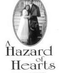 Helena Bonham Carter (as Serena Staverley) in a video cover from A Hazard of Hearts (1987) (2)