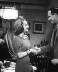 David Evans (as Jimmy Cavour), Joan Greenwood (as Babe Cavour) and Vic Oliver (as Lucky Lyndon) in a screenshot from He Found a Star (1941) (2)