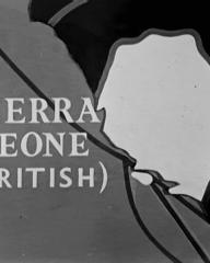 Main title from The Heart of the Matter (1953) (2). Sierra Leone (British)