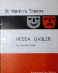 Programme from Hedda Gabler (1960) at the St Martin's Theatre, London (1)