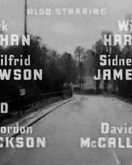 Main title from Hell Drivers (1957) (6).  Also starring Patrick McGoohan William Hartnell, Wilfrid Lawson, Sidney James, Jill Ireland, Alfie Bass, Gordon Jackson, David McCallum