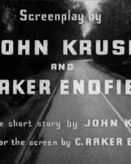 Main title from Hell Drivers (1957) (8).  Screenplay by John Kruse and C Raker Endfield.  From the short story by John Kruse.  Adapted for the screen by C Raker Endfield