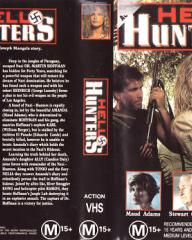Candice Daly (as Ally) in a video cover from Hell Hunters (1986) (1)