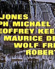Main title from The Heroes of Telemark (1965) (6). Barry Jones, Ralph Michael, Geoffrey Keen, Maurice Denham, Wolf Frees, Robert Ayres