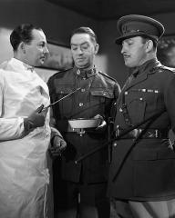 Photograph of The High Command (1937) (1). Leslie Perrins, Allan Jeayes, Lionel Atwill