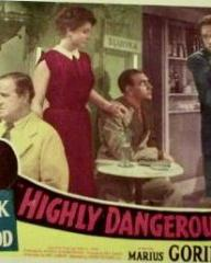 Lobby card from Highly Dangerous (1950) (2)