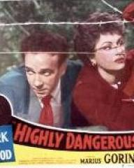 Lobby card from Highly Dangerous (1950) (3)