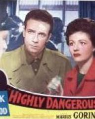 Lobby card from Highly Dangerous (1950) (4)