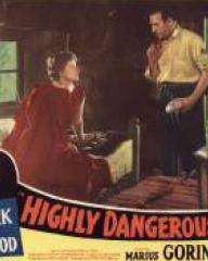 Lobby card from Highly Dangerous (1950) (5)