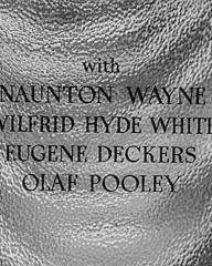 Main title from Highly Dangerous (1950) (6).  With Naunton Wayne Wilfrid Hyde-White, Eugene Deckers, Olaf Pooley