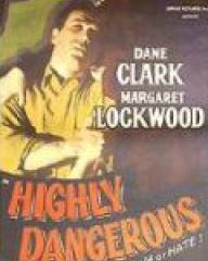 Poster for Highly Dangerous (1950) (1)