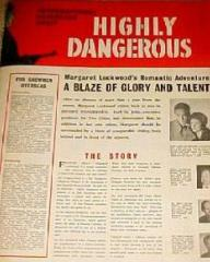 Pressbook for Highly Dangerous (1950) (1)