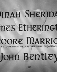 Main title from The Hills of Donegal (1947) (2).  Dinah Sheridan James Etherington, Moore Marriott, John Bentley in