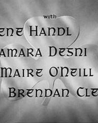 Main title from The Hills of Donegal (1947) (4).  With Irene Handl Tamara Desni, Maire O'Neill, Brendan Clegg