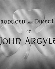 Main title from The Hills of Donegal (1947) (9).  Produced and directed by John Argyle
