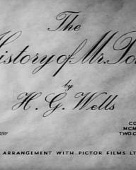 Main title from The History of Mr Polly (1949)