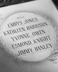 Main title from Holiday Camp (1947) (5).  With Emrys Jones Kathleen Harrison, Yvonne Owen, Esmond Knight, Jimmy Hanley