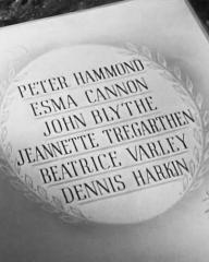 Main title from Holiday Camp (1947) (6).  Peter Hammond Esma Cannon, John Blythe, Jeannette Tregarthen, Beatrice Varley, Dennis Harkin