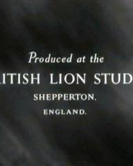 Main title from The Holly and the Ivy (1952) (12).  Produced at the British Lion Studio Shepperton, England