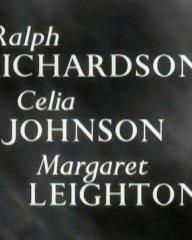 Main title from The Holly and the Ivy (1952) (2).  Ralph Richardson Celia Johnson, Margaret Leighton