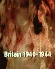 Main title from the 1974 'Home Fires' episode of The World at War (1973-74) (2). Britain 1940-1944