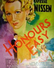 Poster for Honours Easy (1935) (1)
