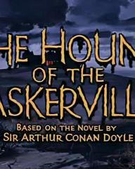 Main title from The Hound of the Baskervilles (1959) (5).  Based on the novel by Sir Arthur Conan Doyle
