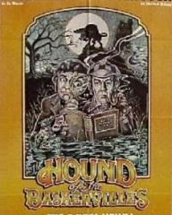 Australian poster for The Hound of the Baskervilles (1977) (2)