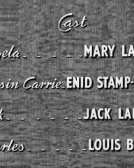 Main title from House Broken (1936) (4).  Cast Mary Lawson Enid Stamp-Taylor, Jack Lambert, Louis Borel