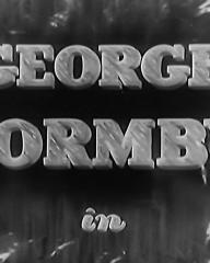 Main title from I See Ice! (1938) (2). George Formby in