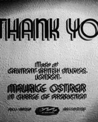 Main title from I Thank You (1941) (3).  Made at Gaumont British Studios London.  Maurice Ostrer in charge of production.  Full-range recording