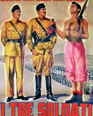 Italian poster for I Tre Soldati [Soldiers Three] (1951) (1)