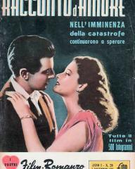I Vostri Film Romanzo magazine with Margaret Lockwood in Love Story.  1954.  (Italian)