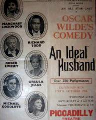 Programme from An Ideal Husband (1965) at the Piccadilly Theatre, London (2)