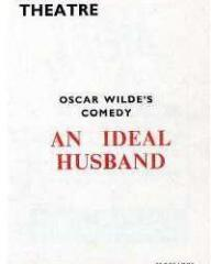 Programme from An Ideal Husband (1965) at the Strand Theatre, London (1)