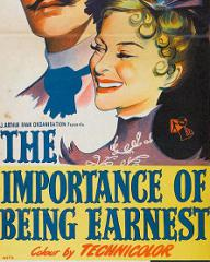 Australian poster for The Importance of Being Earnest (1952) (2)