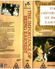 Australian video cover from The Importance of Being Earnest (1952) (1)