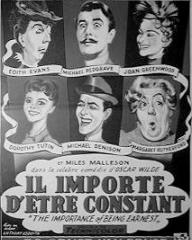 Belgian poster for The Importance of Being Earnest (1952) (1)