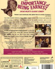 DVD cover of The Importance of Being Earnest (1952) (5)