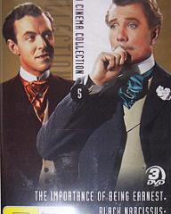 Michael Denison (as Algernon Moncrieff) and Michael Redgrave (as Jack Worthing) in a DVD cover of The Importance of Being Earnest (1952) (8)