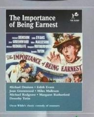 DVD cover of The Importance of Being Earnest (1952) (9)