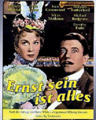 German DVD cover of The Importance of Being Earnest (1952) (1)